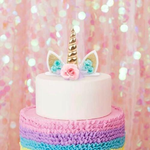 Unicorn Horn Cake Kids Birthday Party