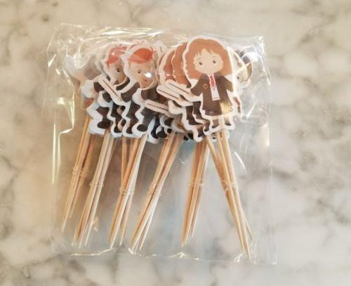 Harry Potter Cupcake Toppers Kids Hermione