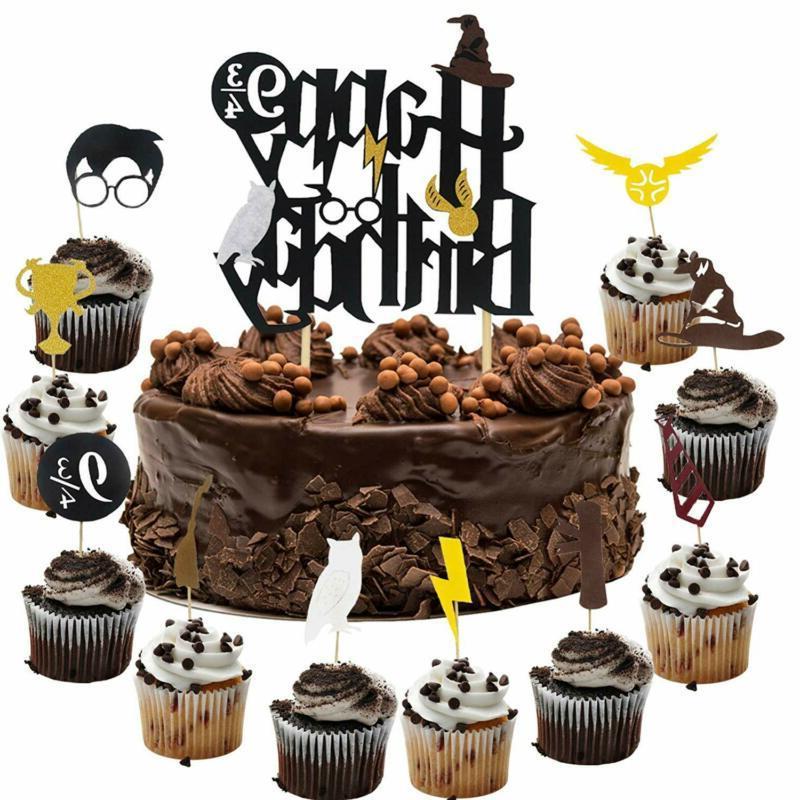 Harry Potter Happy Birthday Cake Cupcake S