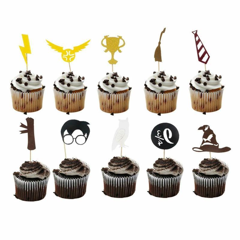 Harry Birthday & Cupcake Decorations