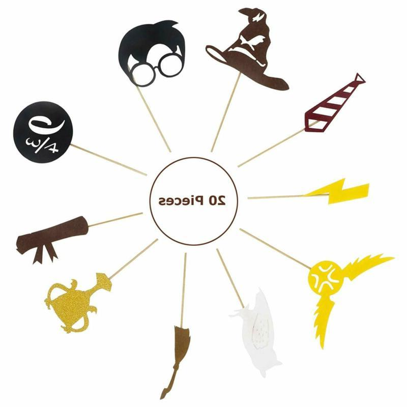 Harry Birthday Topper Cupcake Toppers