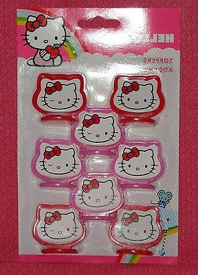hello kitty cupcake toppers plastic 2113 7575