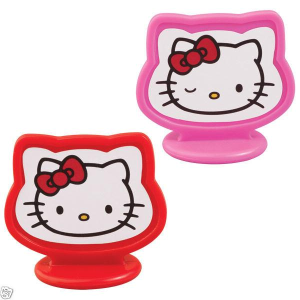 HELLO Toppers cups Wilton: Pink/Red