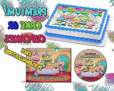 henry hugglemonster edible cake toppers picture sugar