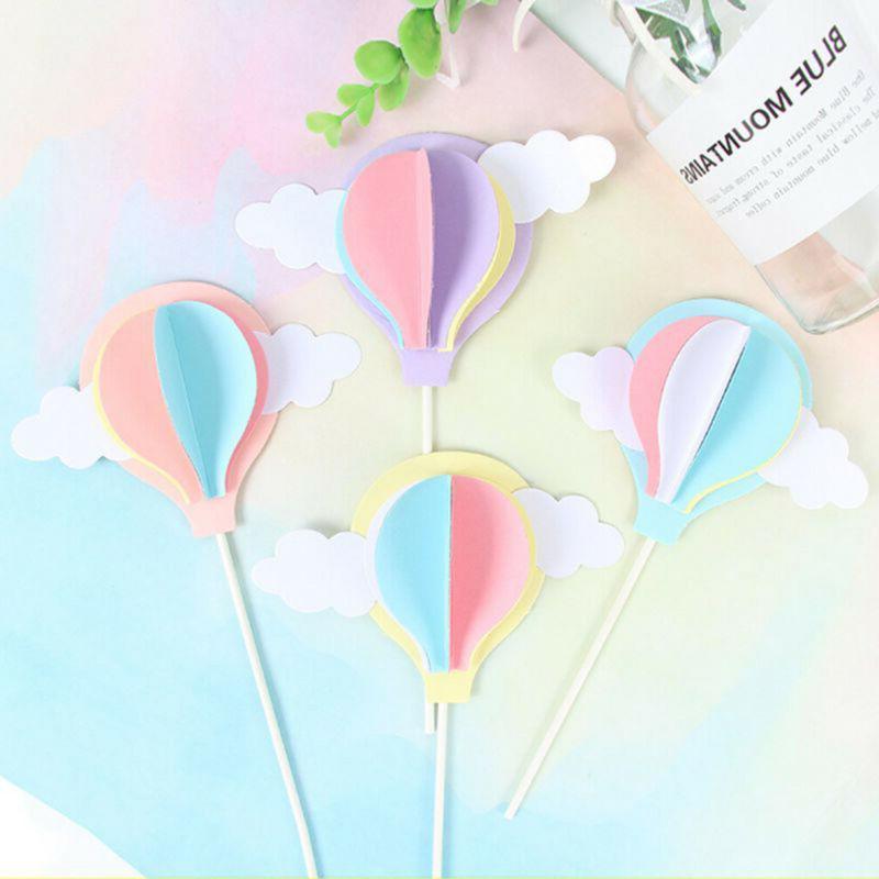Hot Balloon Cupcake Topper Party Baby !
