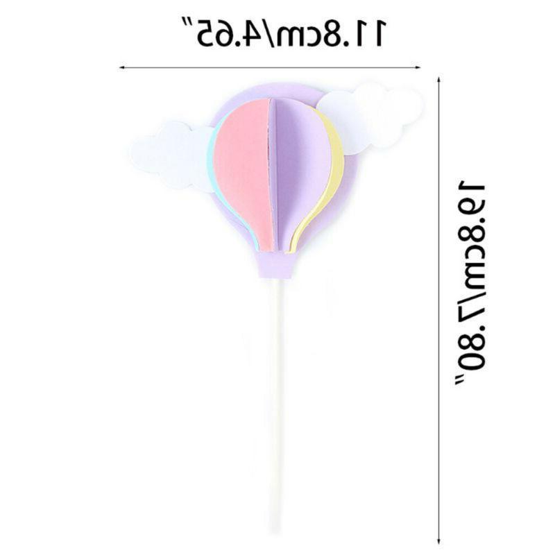 Hot Air Balloon Cake Cupcake Party Baby !