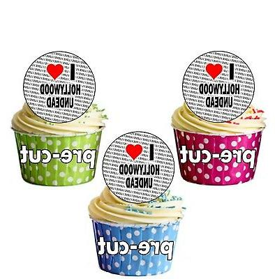 i love hollywood undead 24 edible cupcake