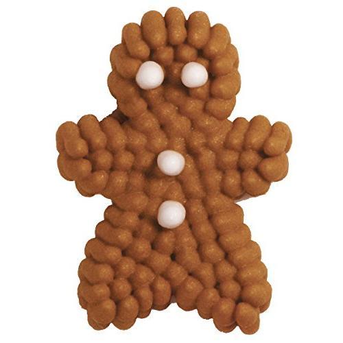 Wilton Icing Decorations, Mini Gingerbread 24
