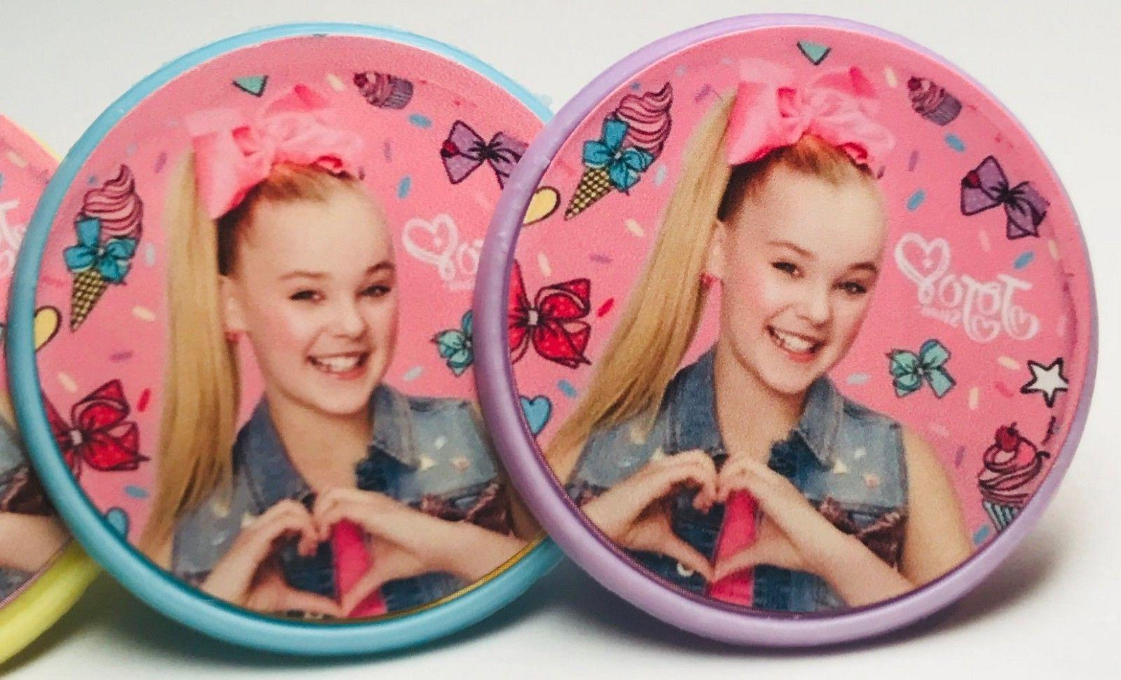 jojo siwa cupcake toppers rings birthday party