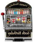 Las Vegas 60th Birthday Slot Machine ~ Sheet Cake Topper ~ E
