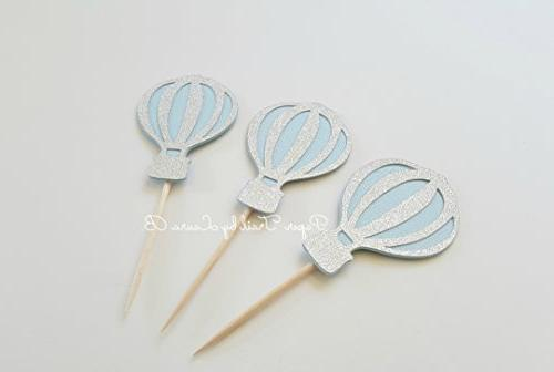 Light Hot Cupcake Toppers. Party