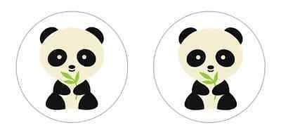 Little Panda Edible Cupcake Toppers Decoration