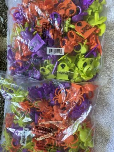 LOT OF 24 CUPCAKE DECORATIONS RING TOMBSTONE