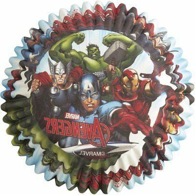 Marvel 50 ct. Marvel Fun Cupcake Toppers