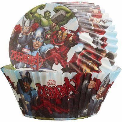 Marvel Avengers 50 ct. 24 Marvel Avengers Cupcake Toppers