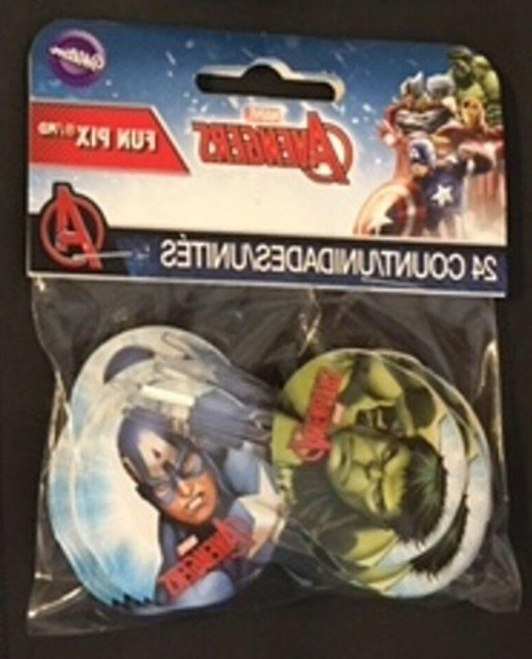 Marvel toppers treat party bundle lot