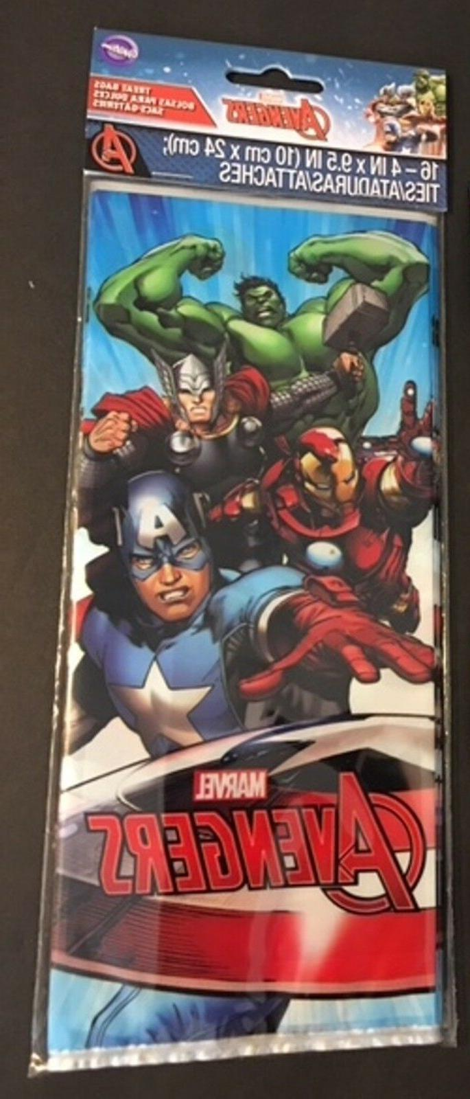 Marvel Avengers toppers bags party bundle lot