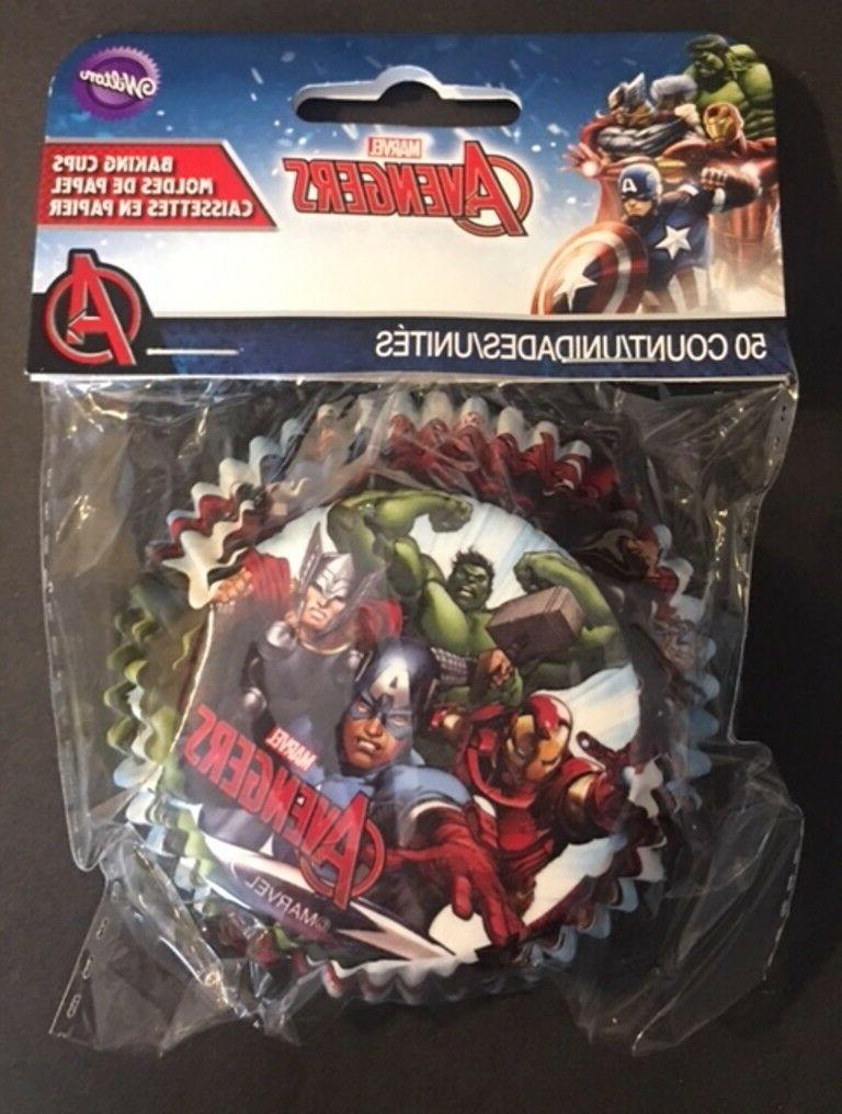 Marvel liners toppers treat bundle