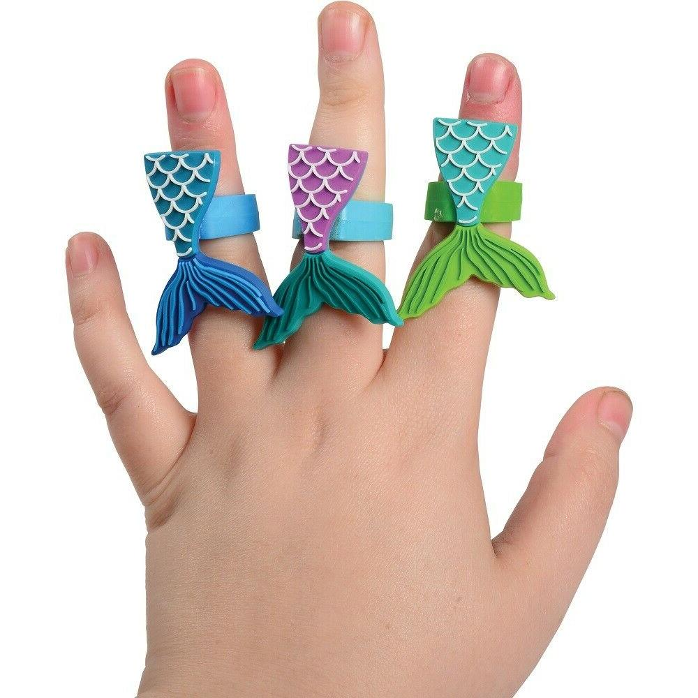 Mermaid Toppers Decorations Set of