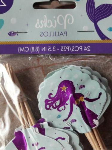 Mermaid The Cupcake Toppers