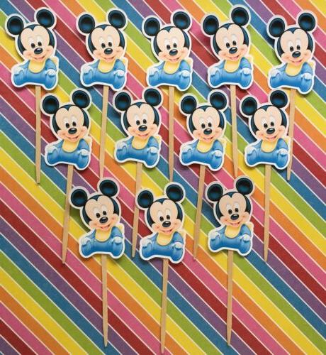 Mickey Set Cupcake Toppers
