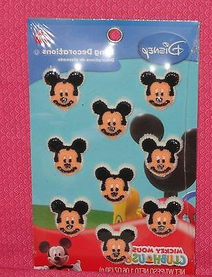 Mickey Mouse Edible Icing Cupcake Toppers,Decoration,Wilton,