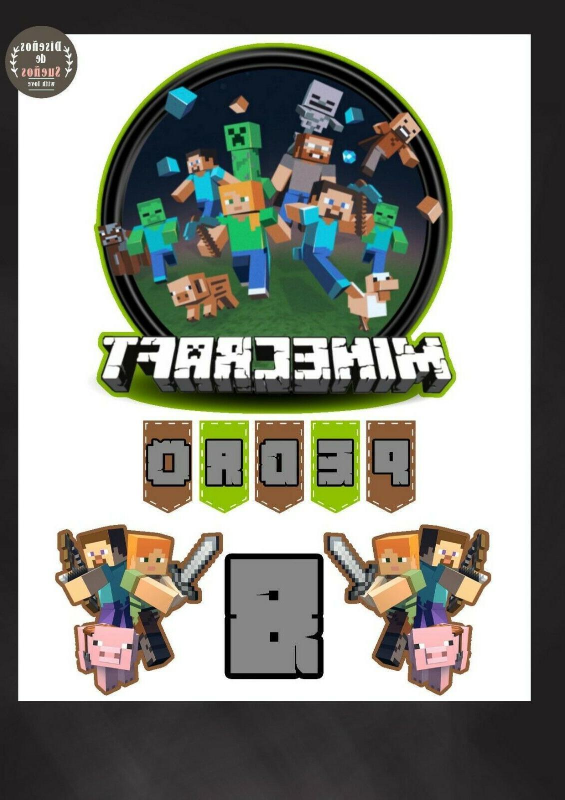 Minecraft Birthday Supplies