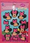 Minnie Mouse Edible Icing Cupcake Decorations,Topper,Wilton,
