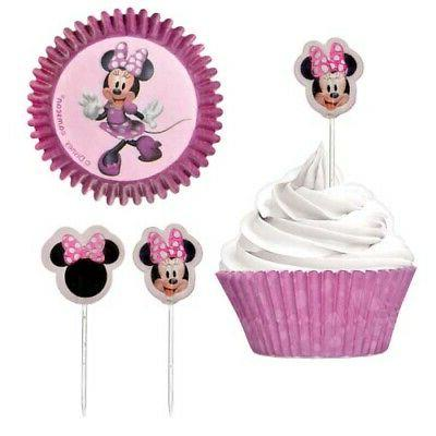 minnie mouse forever cupcake kit for 24