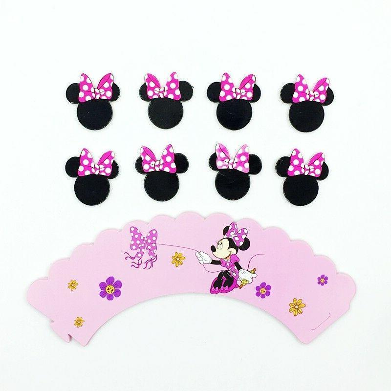 Minnie Kid's Cupcake Set of 1 Dozen