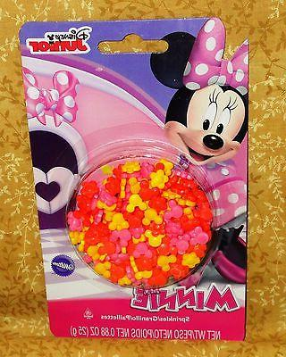 minnie mouse sprinkles candy decorations cupcake toppers