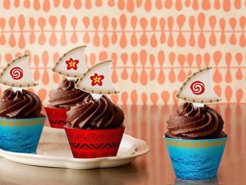 Moana Cupcake Party Hawaiian Decorations