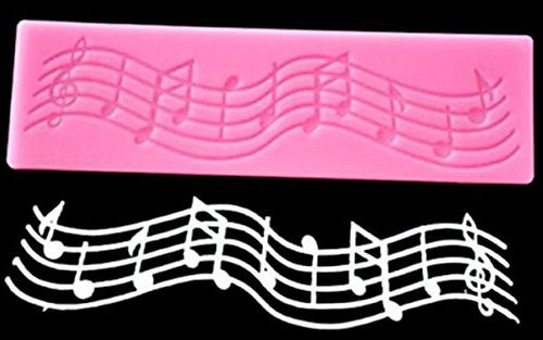 Sakolla(Set of 2)Multi Music Note Lace Fondant Decorating Tool Tool Cupcake