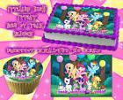 My little pony Edible Cake Toppers image sheet sugar paper b