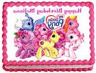 MY LITTLE PONY Image Edible Cake topper decoration