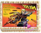 Nerf Guns edible cake cupcake toppers birthday war games par