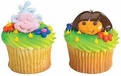 new cake toppers dora the explorer cupcake