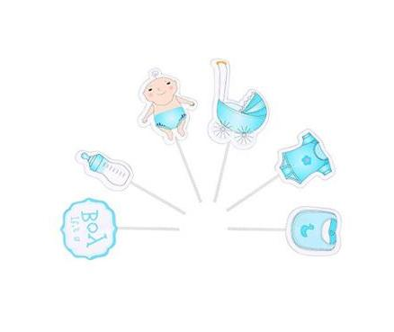 New for Baby Shower a Kids Party Cake Decorations