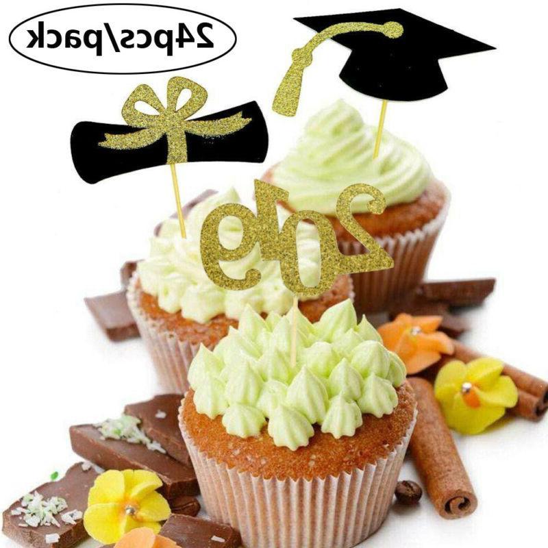New Glitter Mini Cake Graduation Party Supplies