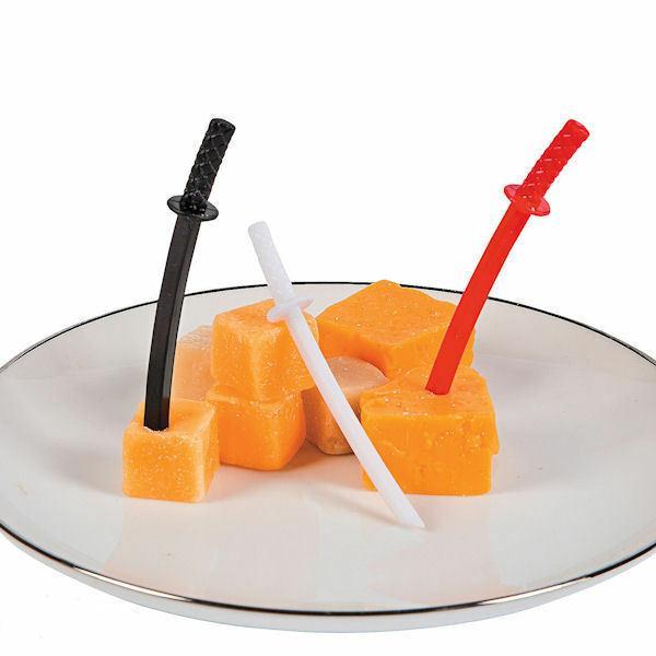 ninja sword cupcake food picks