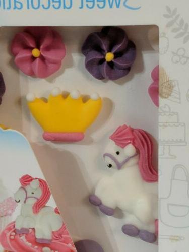 NIP Princess Themed of Packs Sugar Cake/Cupcake Toppers~45 Pieces