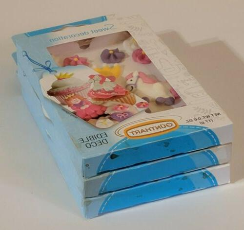 NIP of Sugar Cake/Cupcake Toppers~45 Pieces