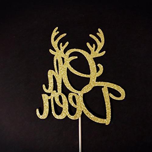 e8e41ec20b54e Oh Deer Cake Topper, Oh Deer Baby Shower,