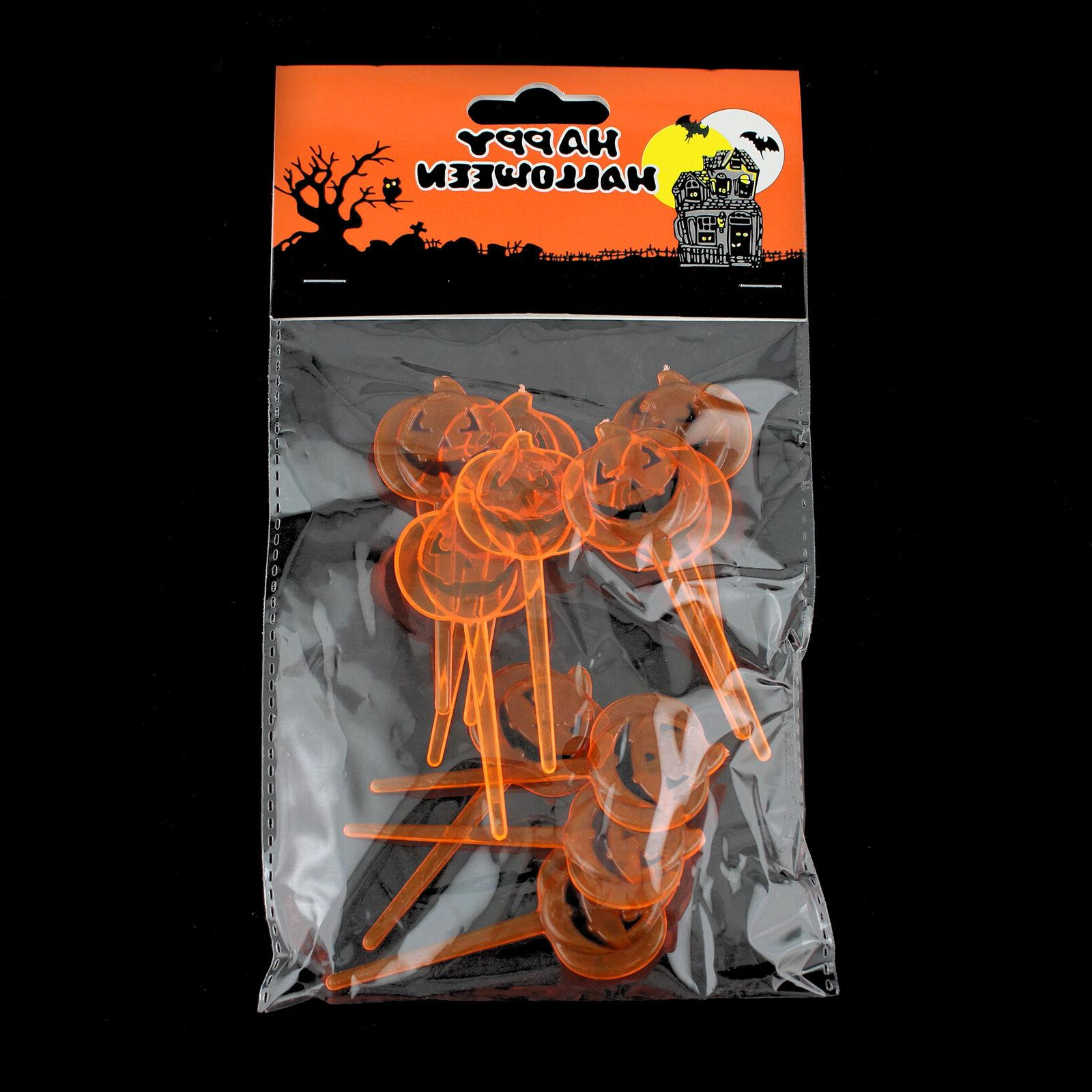Orange Pumpkin Picks Party Supplies