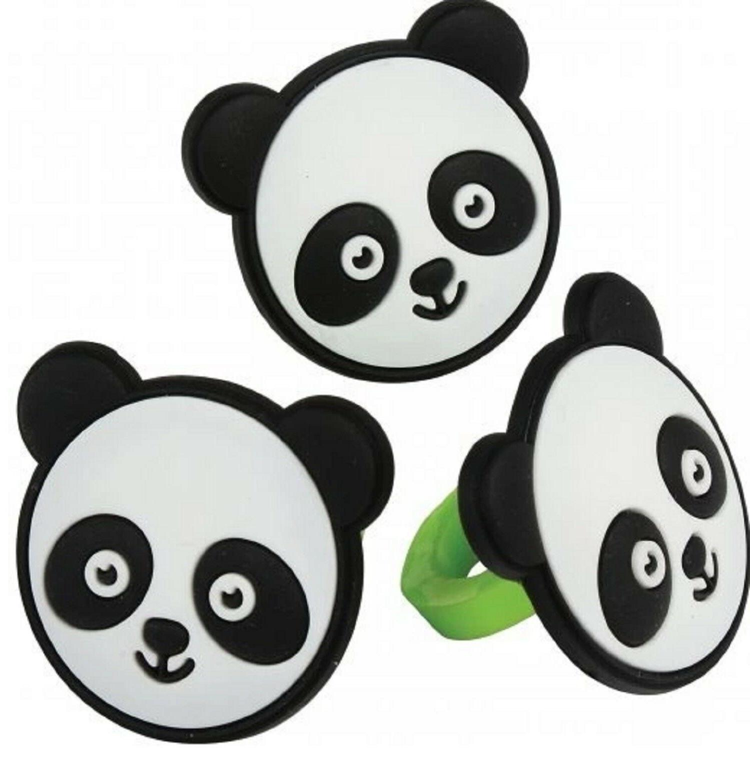 panda cupcake toppers cake decorations birthday party