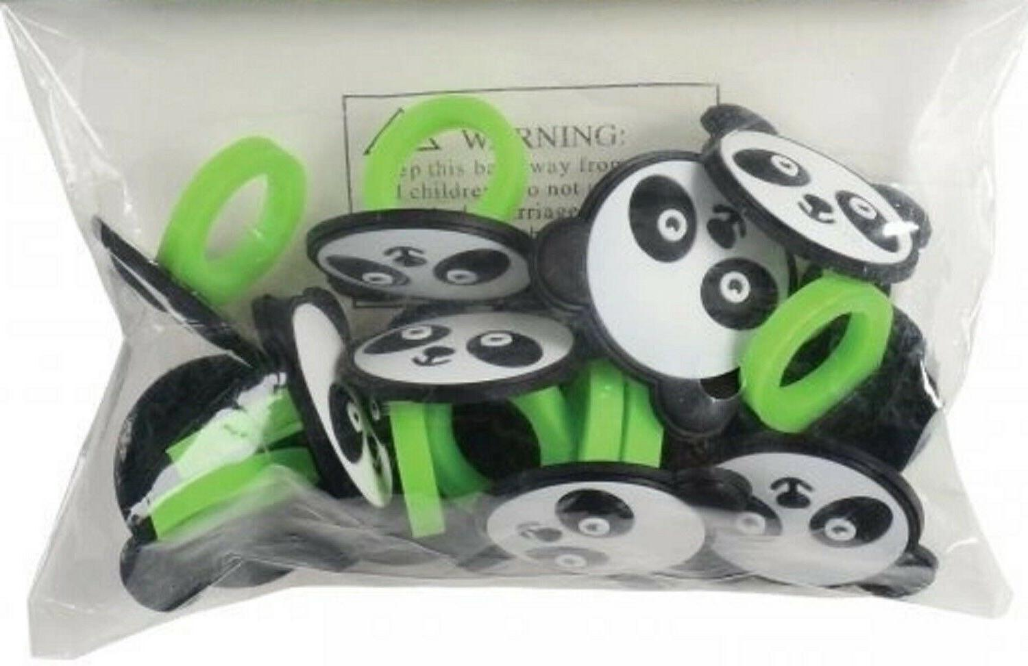 Panda Toppers Cake Decorations Favors Pkg of