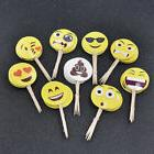 Party Emoji Cupcake Toppers for Birthday Celebration Accesso