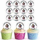Paw Patrol Chase 24 Personalised Pre-Cut Edible Cupcake Topp