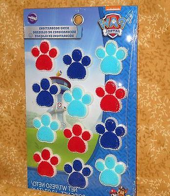 Paw Patrol Toppers,Decorations,Wilton,710-7900,Multi-Color,Dog