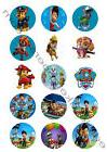 Paw Patrol Edible Print Premium Cupcake/Cookie Toppers Frost